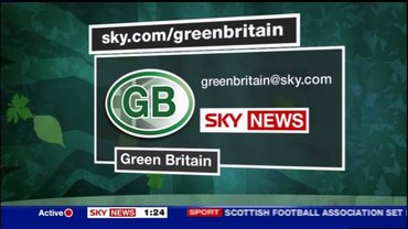 Green Britain – Sky News Presentation 2007