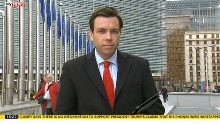 Sky's Mark Stone named Middle East correspondent; Adam Parsons to Brussels