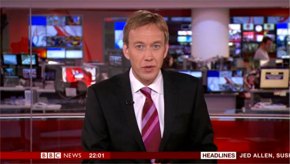 Chris Rogers - BBC News Presenter (2)