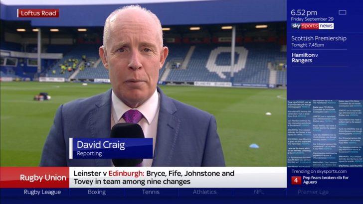 David Craig - Sky Sports Reporter (2)