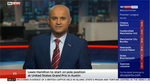 Dharmesh Sheth - Sky Sports News Reporter