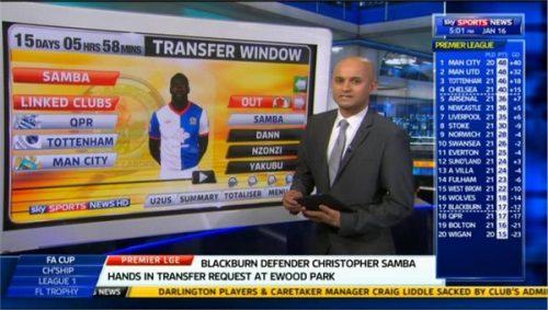 Dharmesh Sheth - Sky Sports Reporter