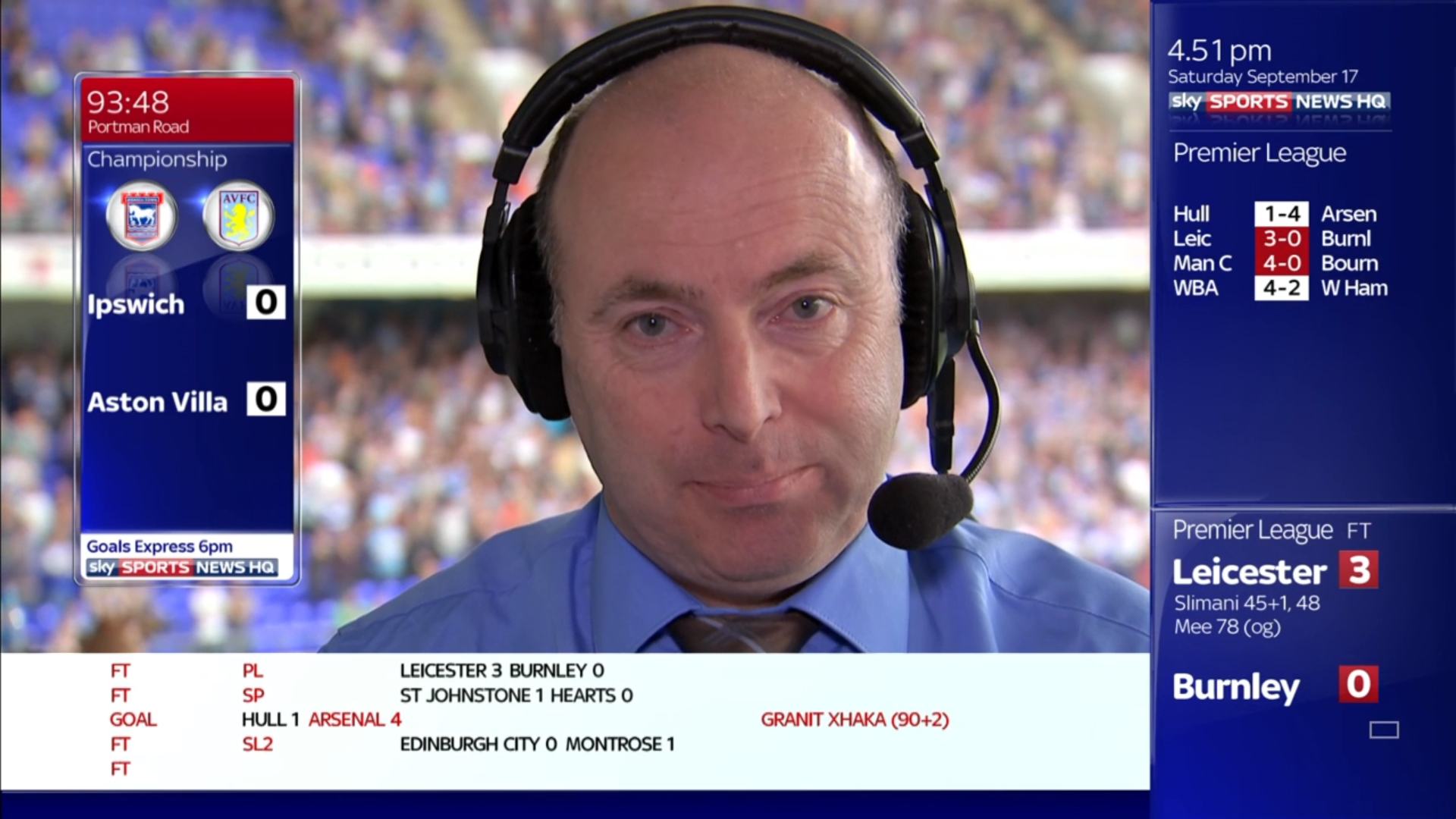 Dickie Davis - Sky Sports Soccer Saturday (1)