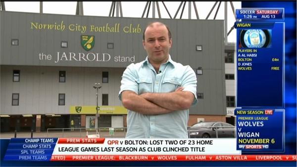 Dickie Davis - Sky Sports Soccer Saturday (2)