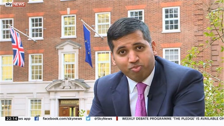 Faisal Islam Images - Sky News (1)