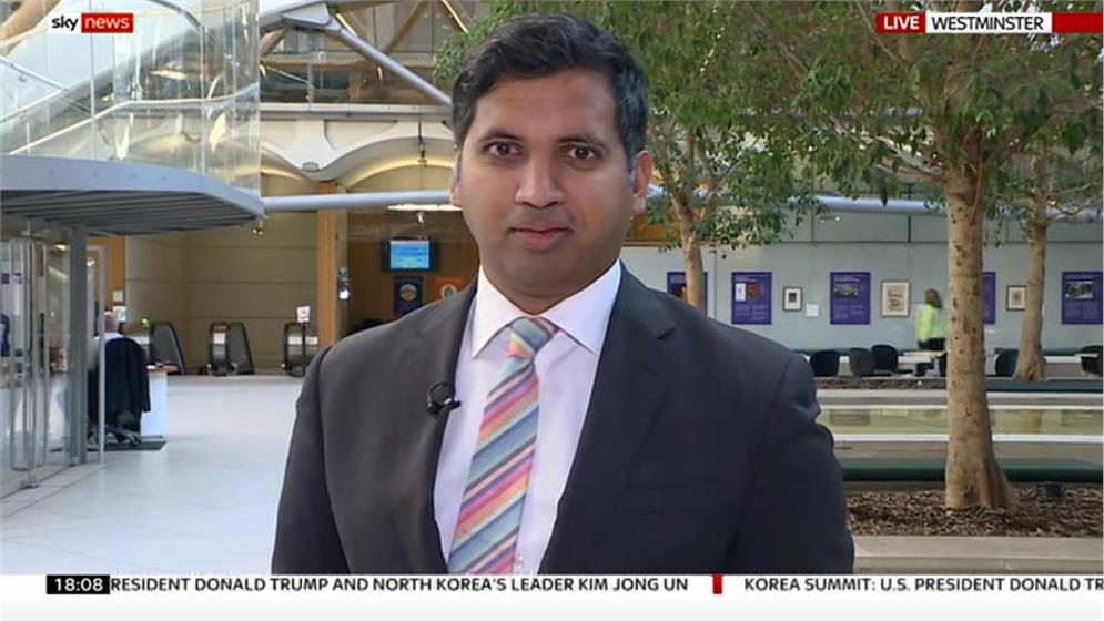 Faisal Islam - Sky News Reporter