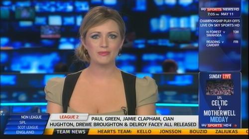 Hayley McQueen - Sky Sports News Presenter (1)