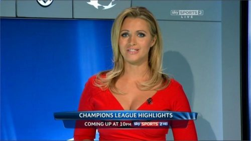 Hayley McQueen - Sky Sports News Presenter (13)