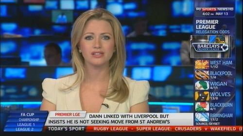 Hayley McQueen - Sky Sports News Presenter (2)
