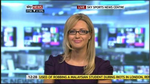Hayley McQueen - Sky Sports News Presenter (6)