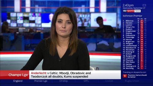 Natalie Sawyer - Sky Sports News Presenter (1)