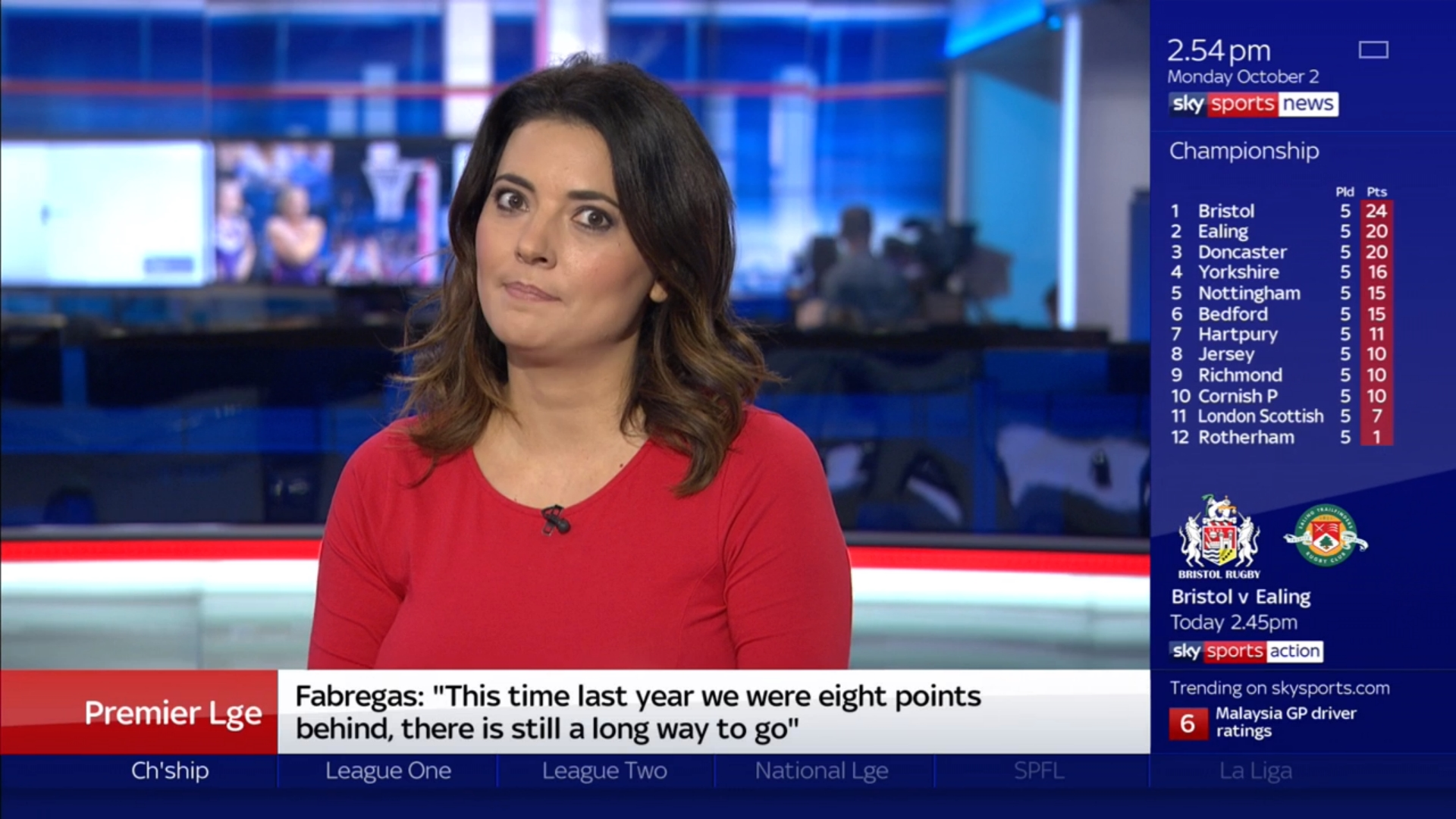 Natalie Sawyer - Sky Sports News Presenter (2)