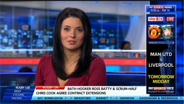 Natalie Sawyer - Sky Sports News Presenter (3)