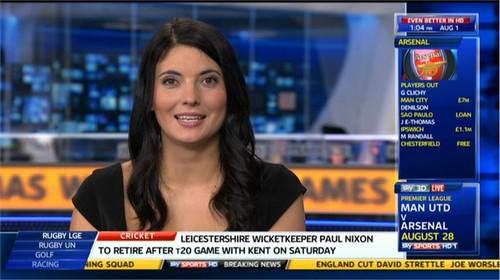 Natalie Sawyer - Sky Sports News Presenter (6)