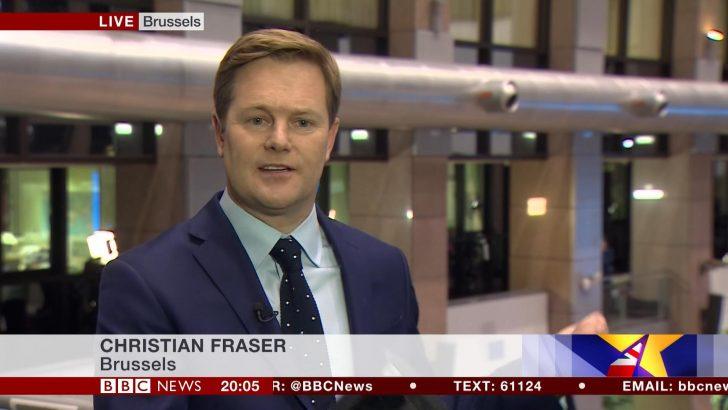Christian Fraser - BBC News Presenter