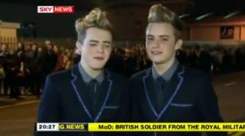 Jedward Sky News