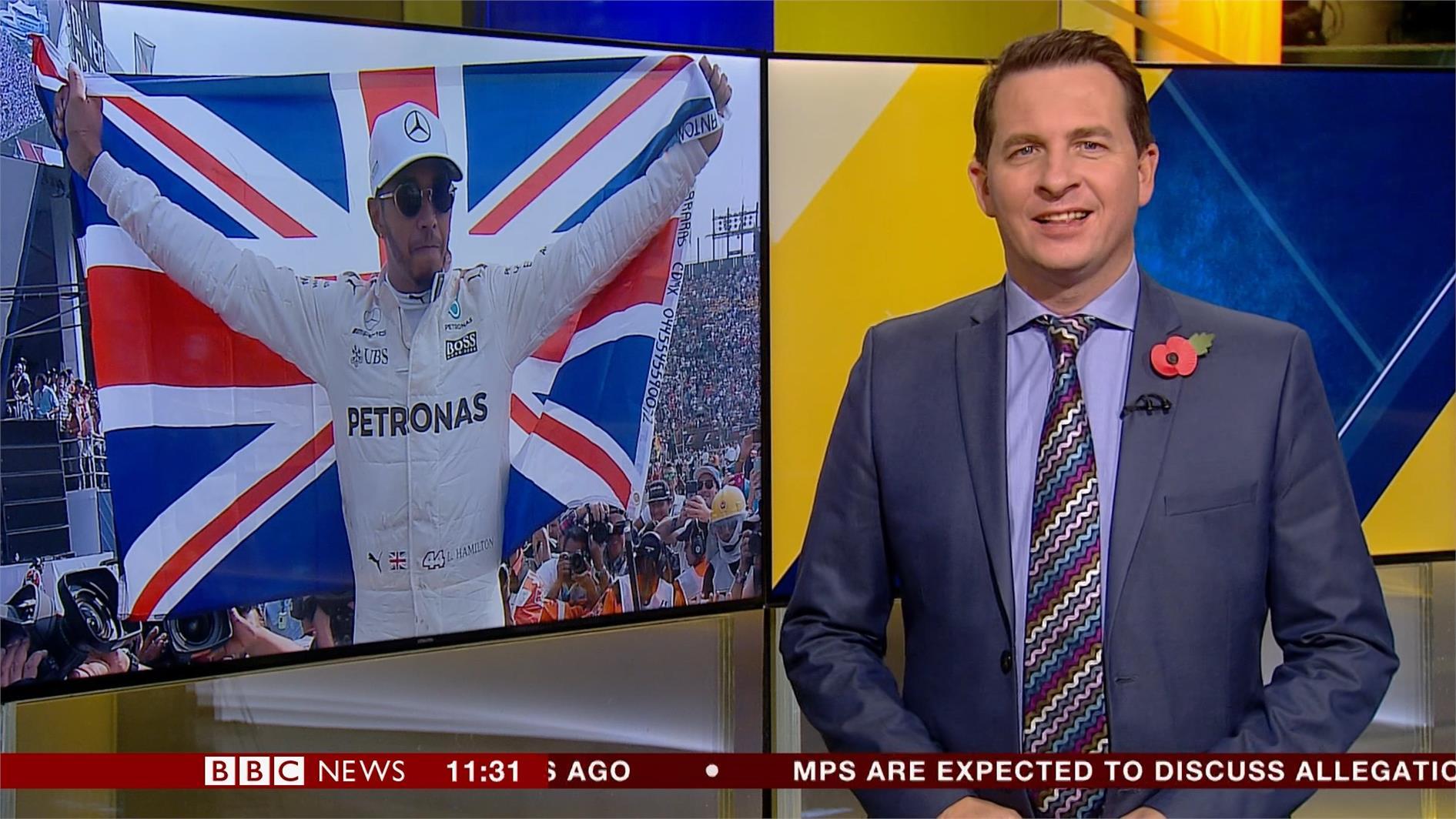 Olly Foster - BBC Sport Presenter (2)