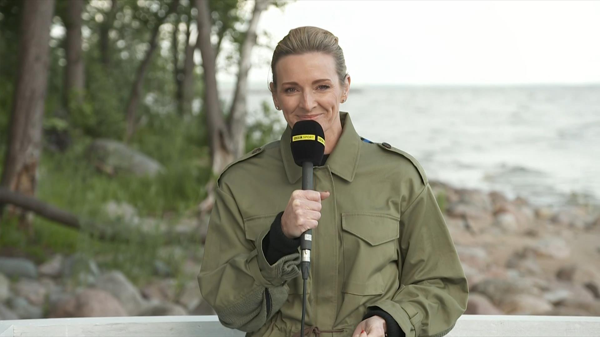Gabby Logan - BBC World Cup 2018