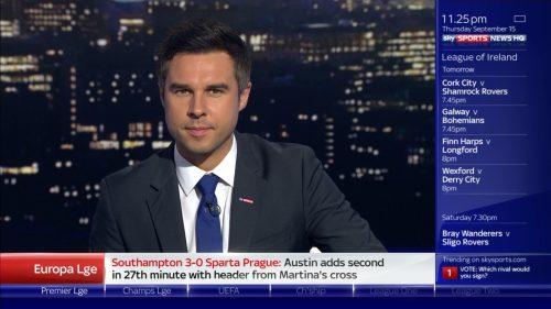 Pete Graves - Sky Sports News Presenter (1)