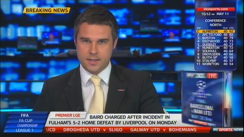 Pete Graves - Sky Sports News Presenter (2)