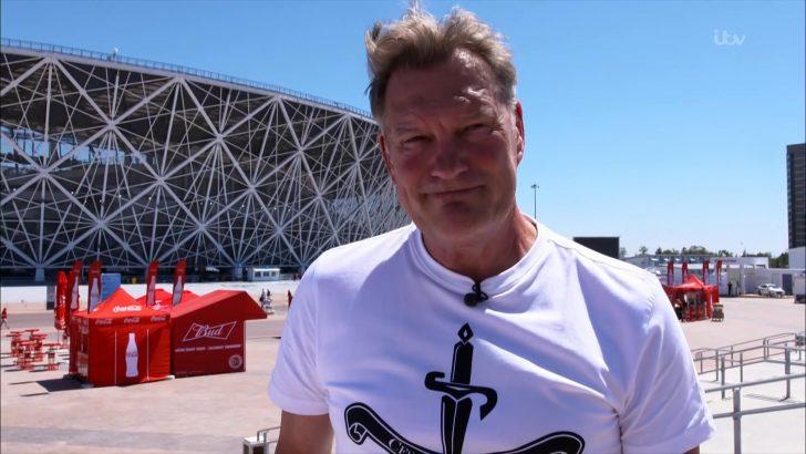 Glenn Hoddle - ITV World Cup 2018