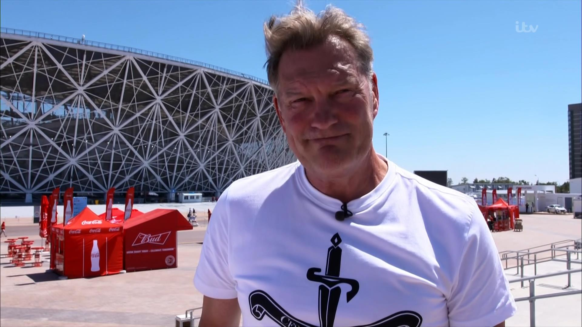 Glenn Hoddle - ITV World Cup 2018