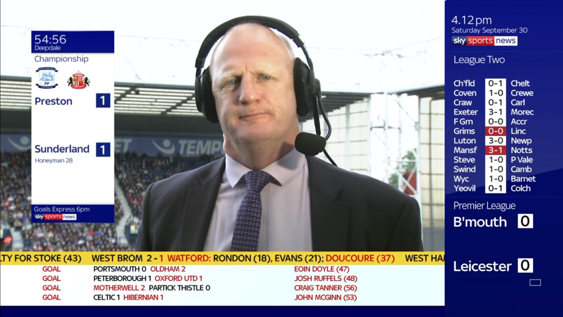 Iain Dowie - Sky Sports Football (3)