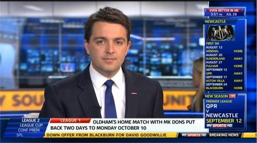 Julian Warren - Sky Sports News Presenter (2)