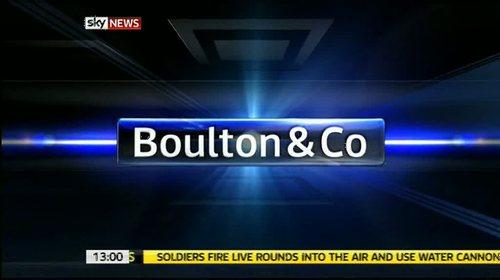 Boulton & Co – Sky News Presentation 2011