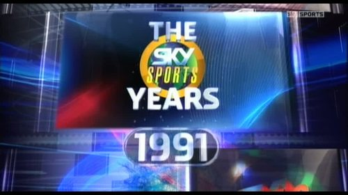 Sky Sports Years: 1991