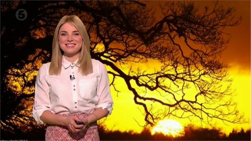 Sian Welby - 5 News Weather Presenter (1)