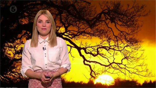 Sian Welby - 5 News Weather Presenter (2)