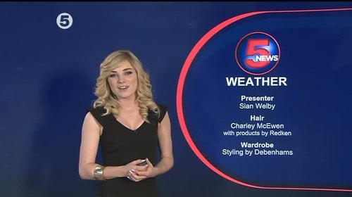 Sian Welby - 5 News Weather Presenter (6)