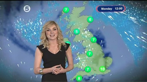 Sian Welby - 5 News Weather Presenter (7)