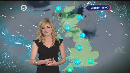 Sian Welby - 5 News Weather Presenter (8)