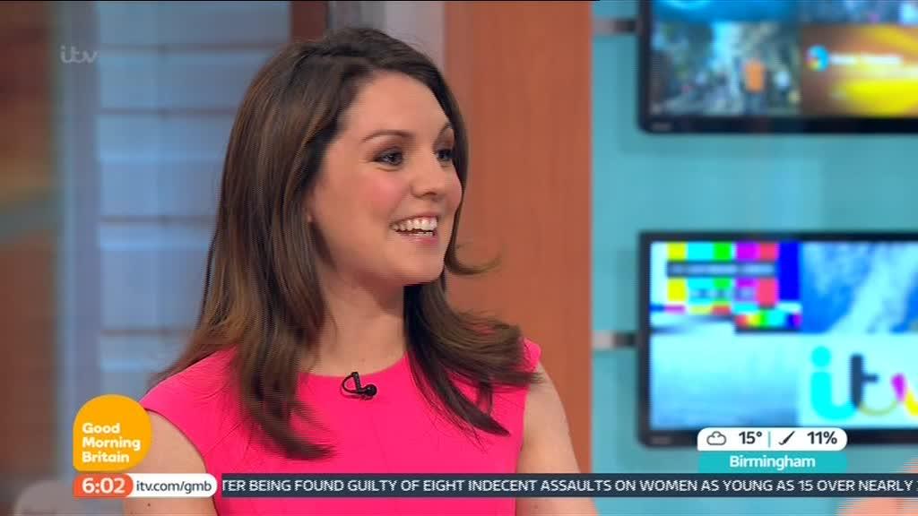 Images of Laura Tobin - Good Morning Britain Presenter (5)