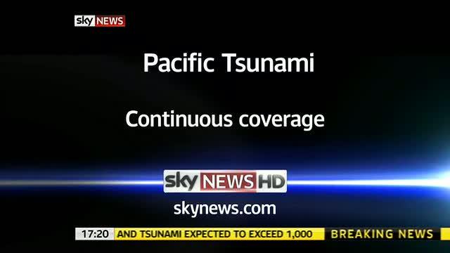 Japan Tsunami – Sky News Promo 2011