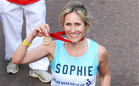 Sophie Raworth Completes Marathon