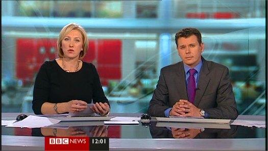 Adam Parsons returns to BBC News