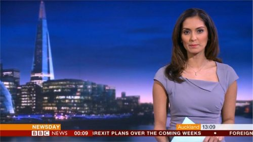 Babita Sharma - BBC News Presenter