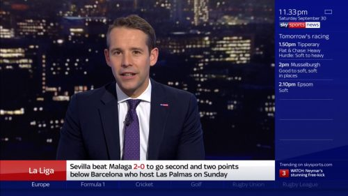 Ed Draper - Sky Sports News Presenter