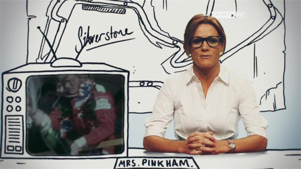 Images of Natalie Pinkham - Sky Sports F1 (3)