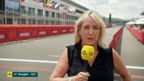 Jill Douglas - BBC Tokyo 2020