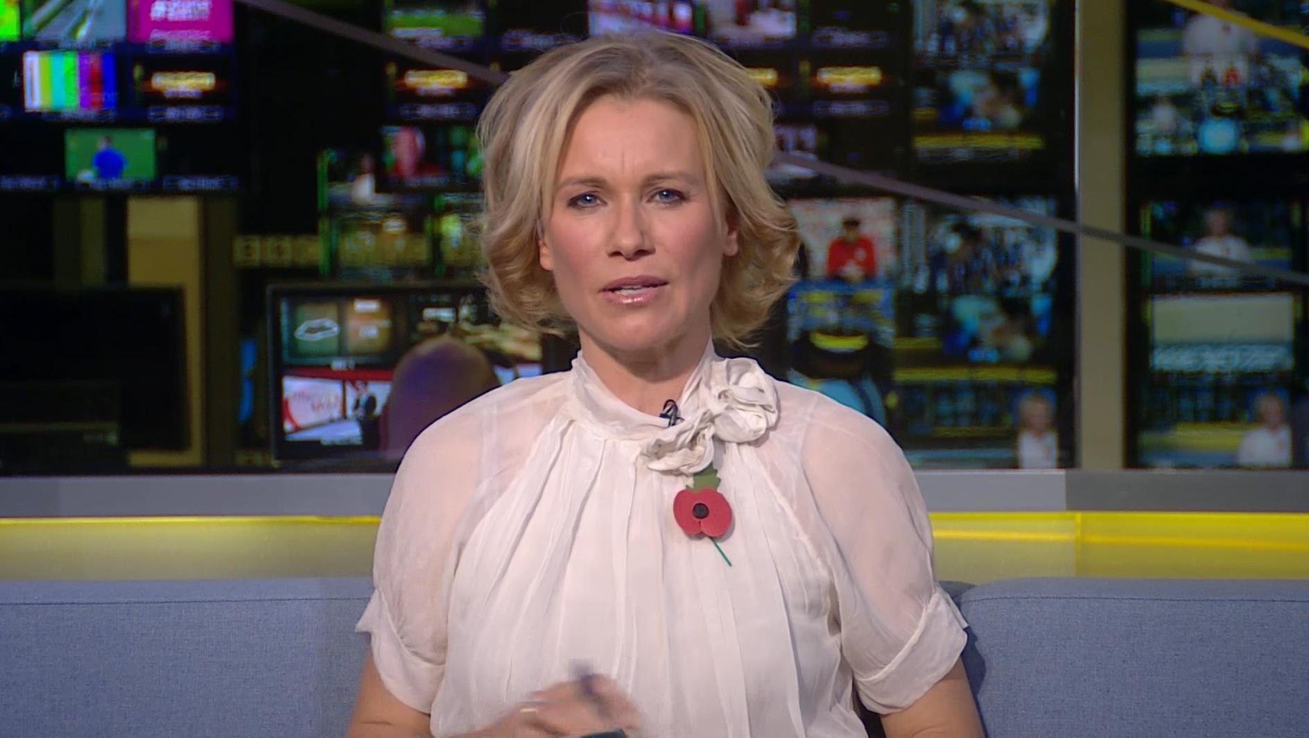 Lizzie Greenwood-Hughes -- BBC Sport Presenter (1)