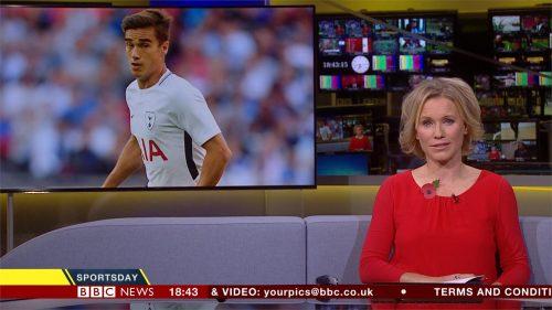 Lizzie Greenwood-Hughes -- BBC Sport Presenter (3)