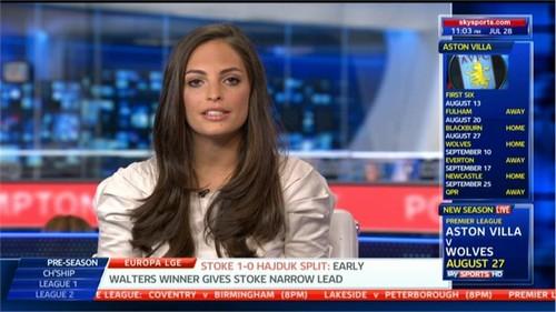 Olivia Wayne Godfrey Sky Sports News Presenter Images (17)