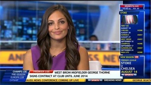Olivia Wayne Godfrey Sky Sports News Presenter Images (6)