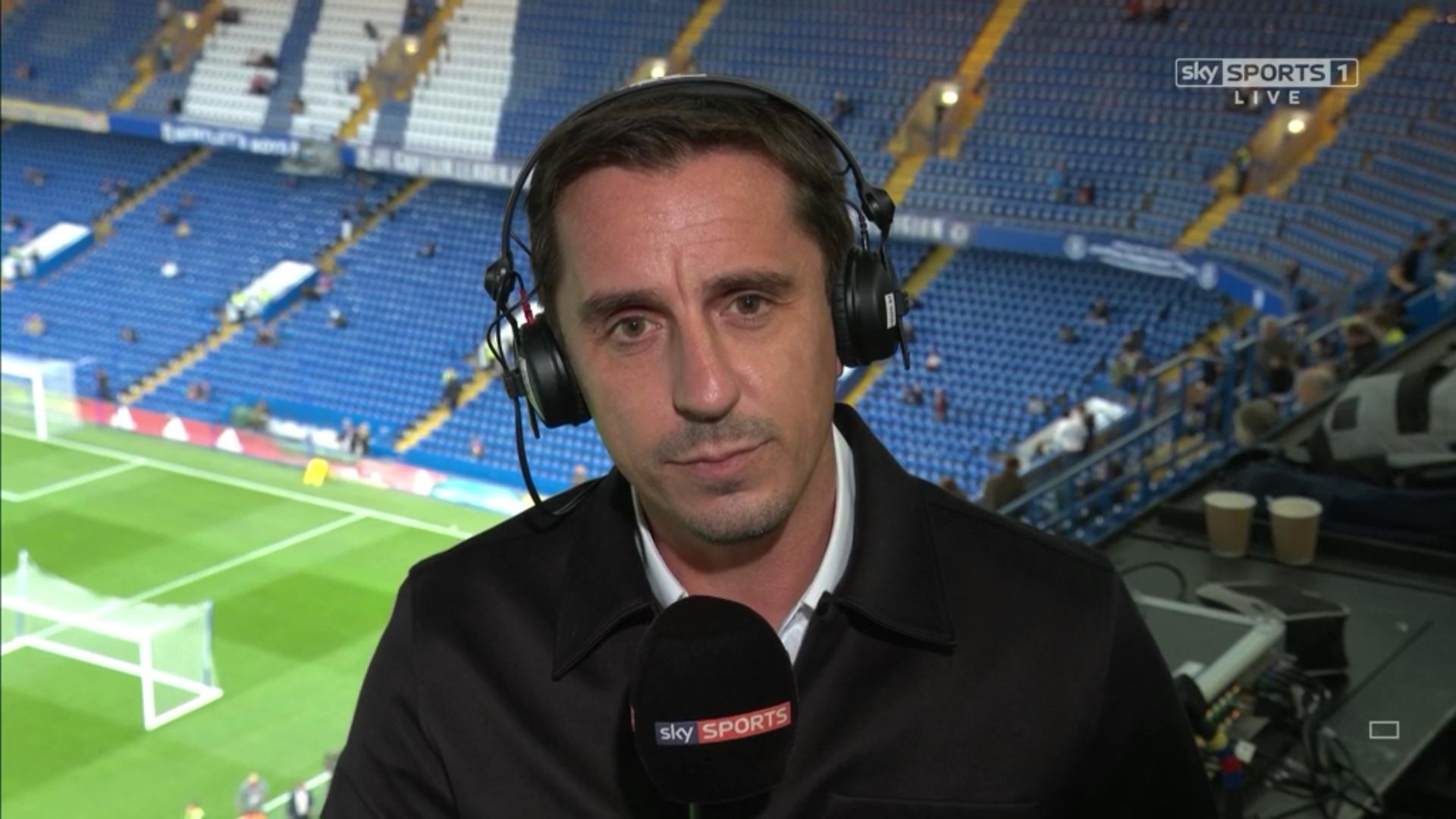 Gary Neville - Sky Sports Football Commentator (1)