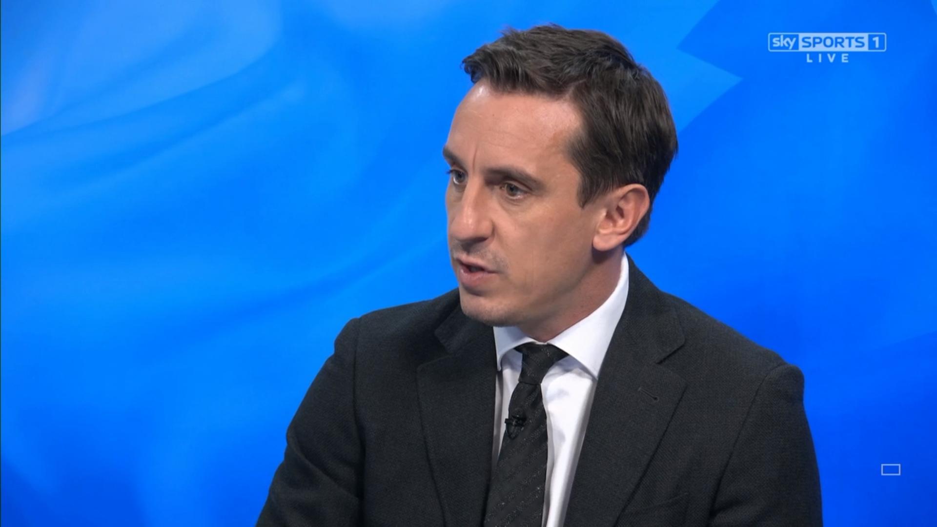 Gary Neville - Sky Sports Football Commentator (13)
