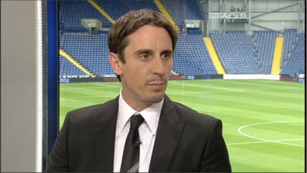 Gary Neville - Sky Sports Football Commentator (2)